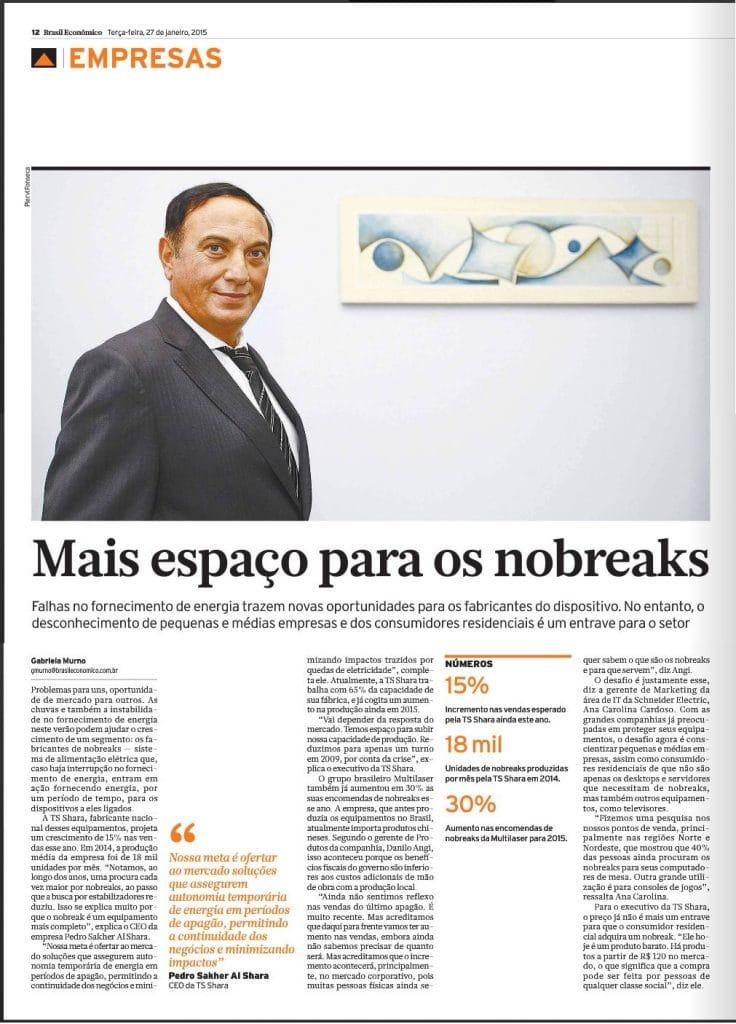 Mais espaço para os Nobreaks - Empresas
