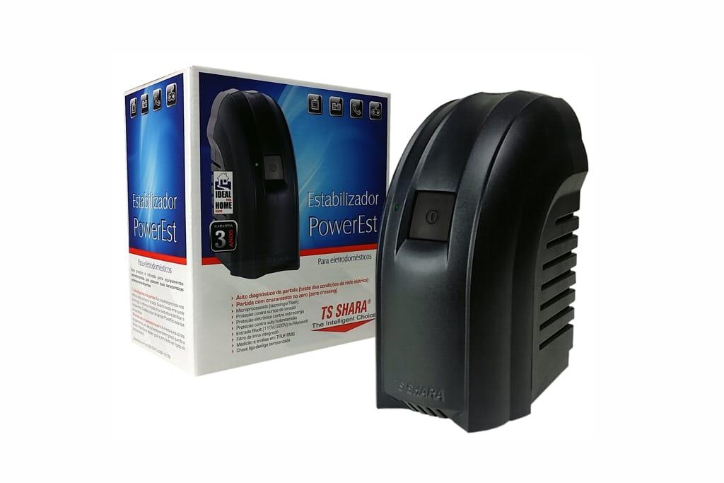 Estabilizadores TS Shara PowerEst foram desenvolvidos para atender as demandas para proteção em energia dos equipamentos eletrodomésticos em geral