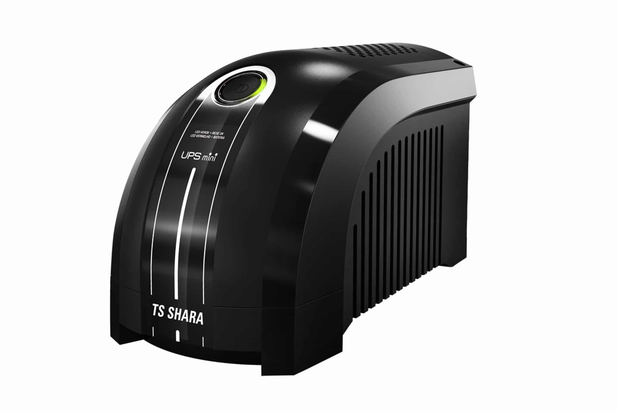 Nobreak TS Shara UPS Mini microprocessado da TS SHARA é a melhor relação custo benefício do mercado, pois renune tecnologia e preço competitivo.
