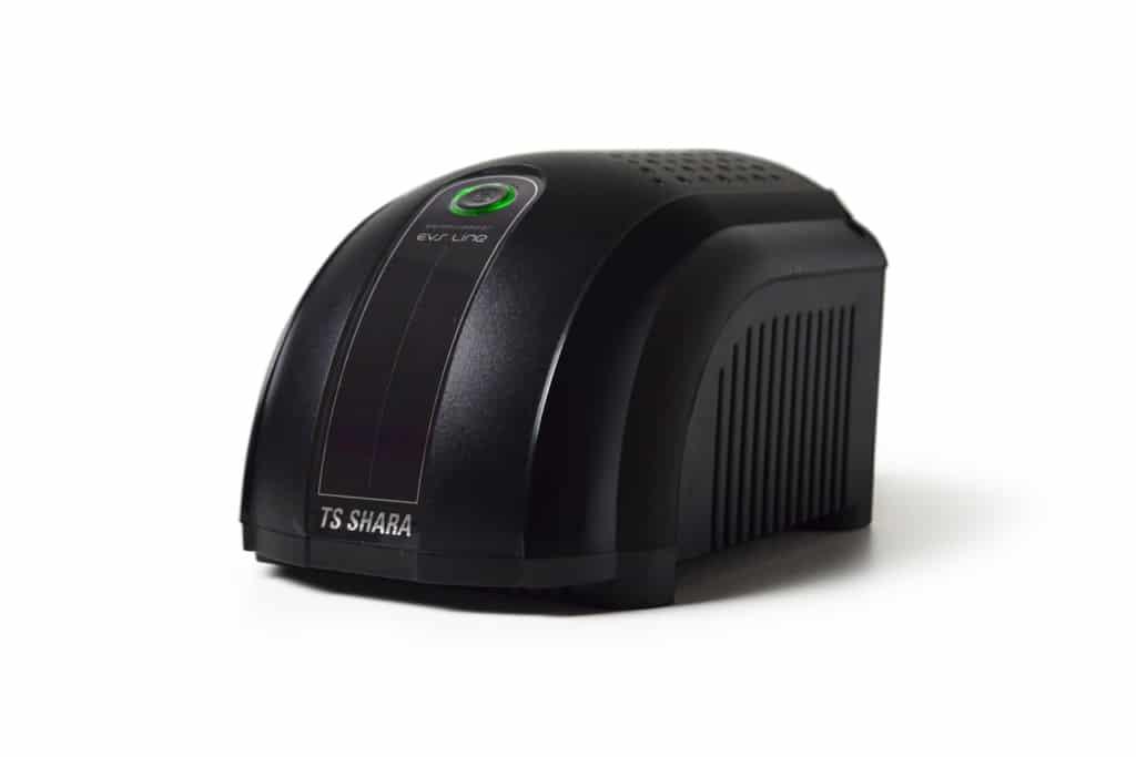 estabilizadores TS Shara EVS LIne foram desenvolvidos para atender as demandas para proteção em energia dos equipamentos eletrônicos em geral