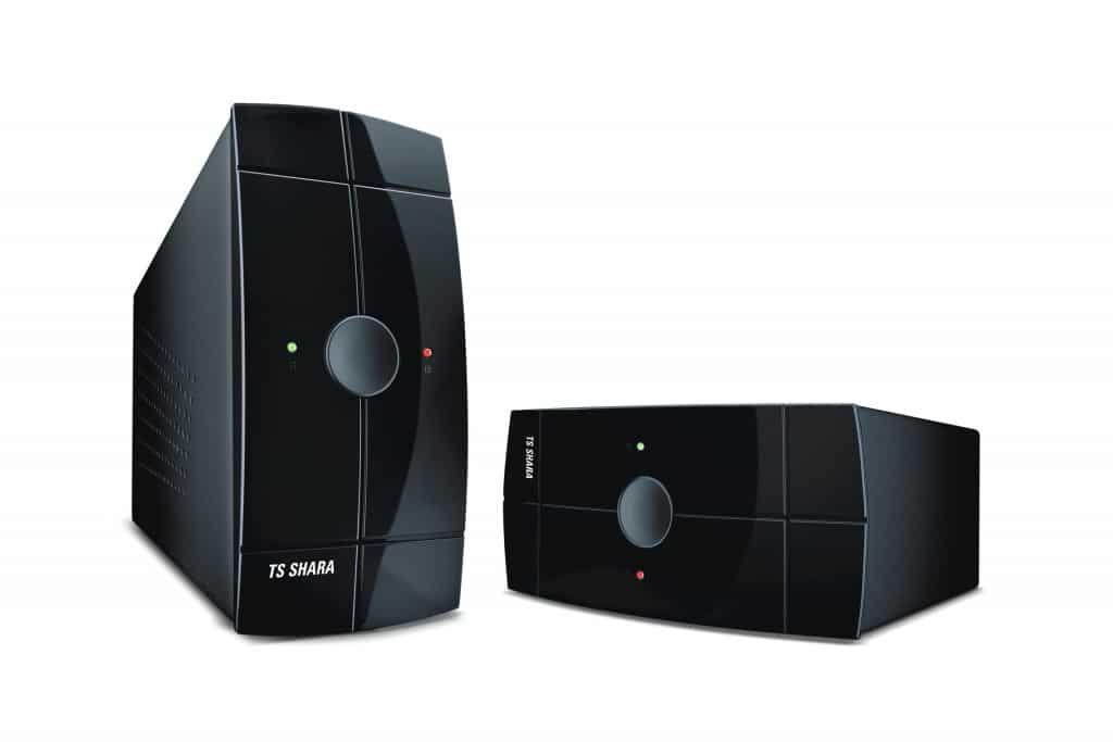 Nobreak TS Shara Power UPS 700VA é omais versátil do mercado, pode ser usado nas posições vertical e horizontal. Além disso, fornece energia na ausência de energia.