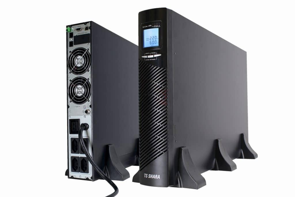 Nobreak TS Shara UPS Senno ST Torre 3KVA de dupla conversão foi concebida com alta tecnologia para conversão de energia em alta frequência.