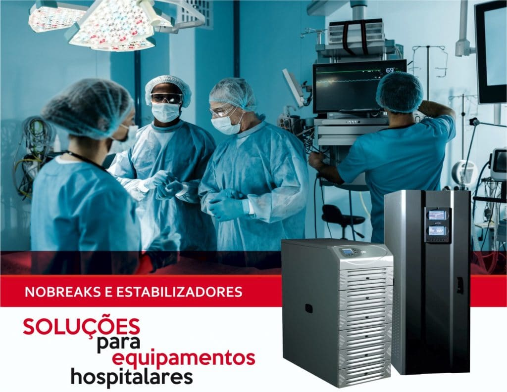 Nobreak para área hospitalar